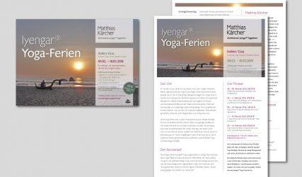 Yoga-Ferien in Indien – Informationsblätter