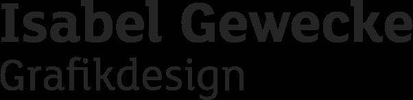 Isabel Gewecke Grafikdesign